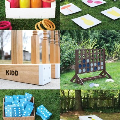 DIY Outdoor Wedding Games