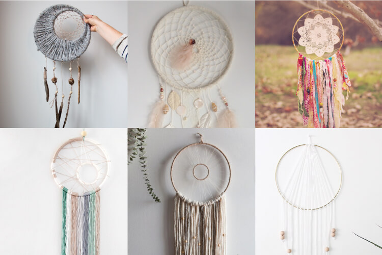 If you love the delicate, boho style of a dreamcatcher, here are 10+ dreamcatcher tutorials for you to try to make your own!