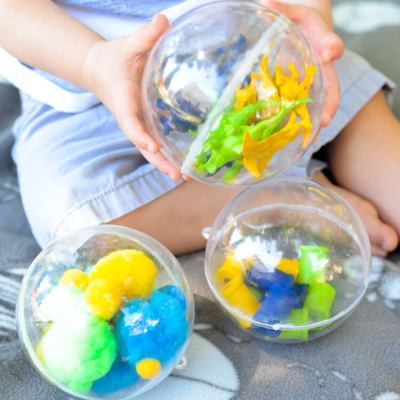 DIY Toddler Sound Shaker Toys + a Giveaway!