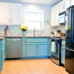 Oak Cabinets Kitchen Backsplash Installation How To Prep Solid For Painting Hey Let S Make Stuff We Totally Transformed Our Dated 1980 With Bright Painted New Lighting And