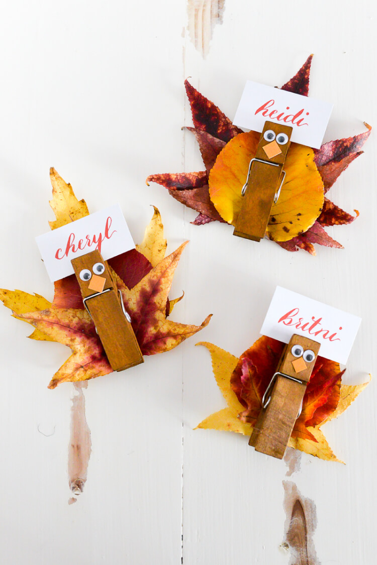 Harvest Place Card Holders