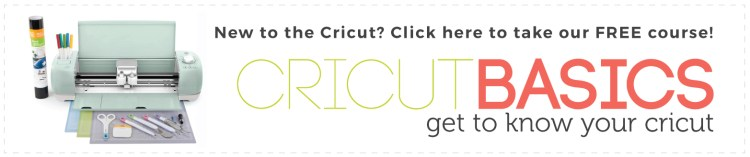 Take the free Cricut Basics Course!