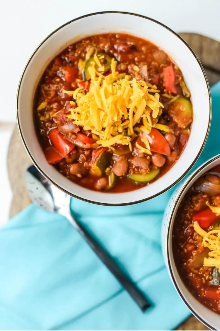 crock pot chili vegetarian easy