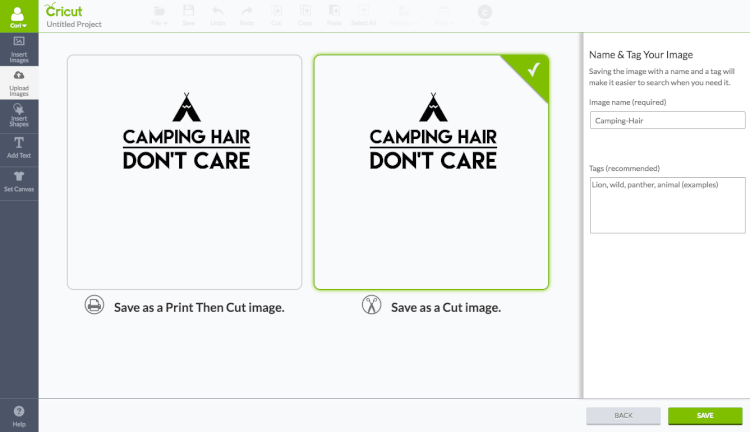 Can I Upload Images to Cut on a Cricut Explore? - Hey, Let's Make Stuff