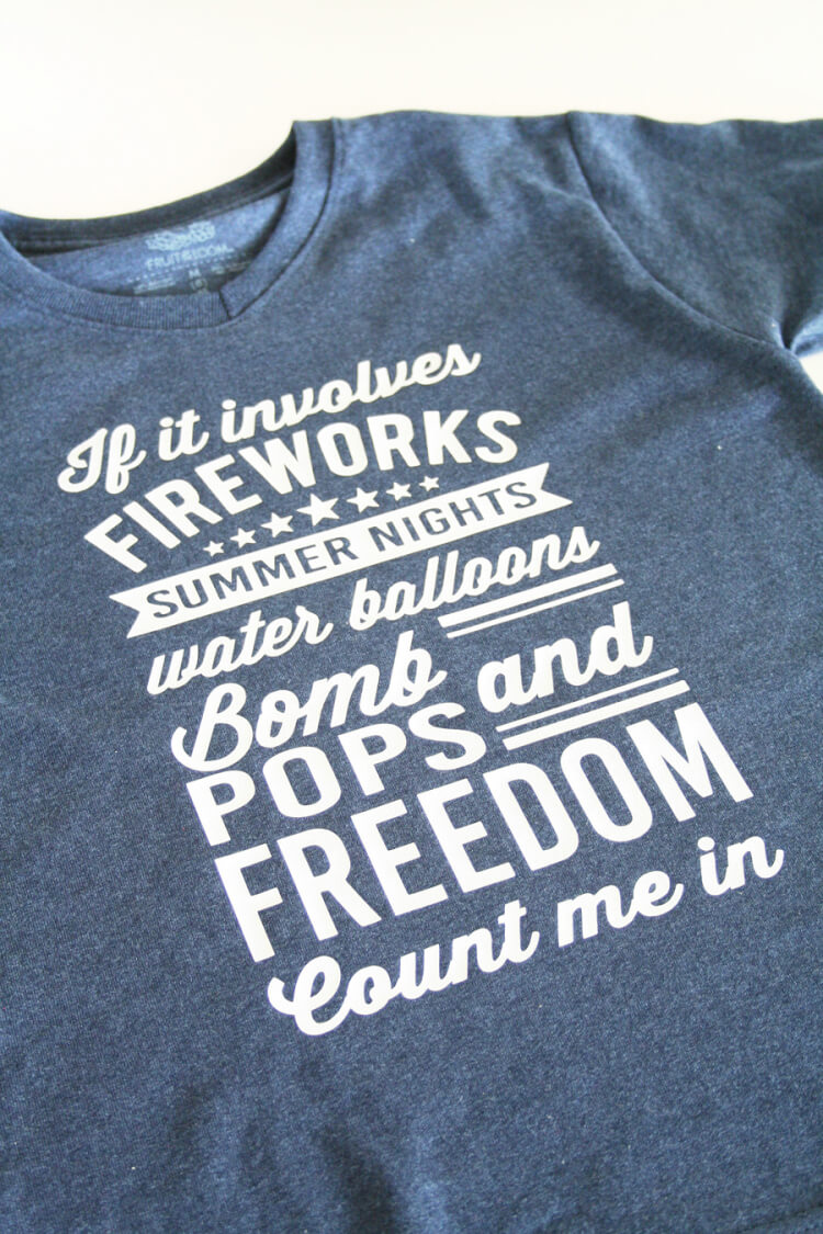 Crafted Sparrow - 4th of July T-Shirt