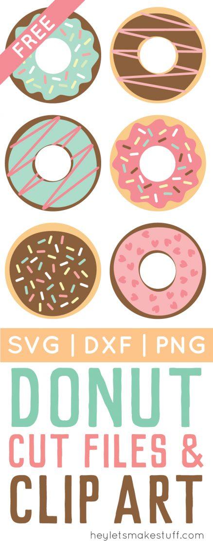 donut cut files pin