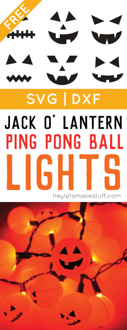 Orange ping pong balls plus fairy lights equal a fun Halloween Jack O' Lantern decoration! An easy project anyone can do. via @heyletsmakestuf