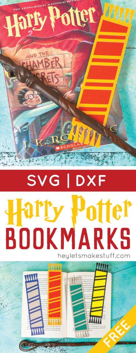 Hogwarts house bookmarks Pin