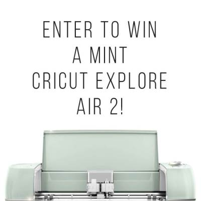 Win a Cricut + Cricut Mountain Make-a-Thon!