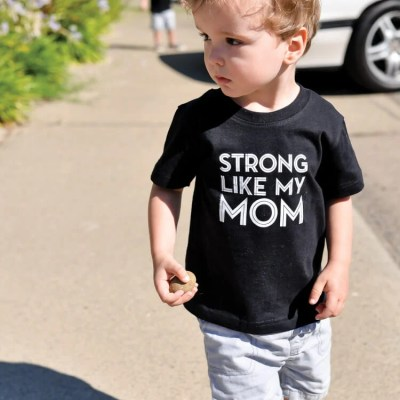 Strong Like My Mom T-Shirt Decal