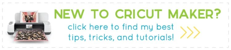 Click here to learn more about the Cricut Maker