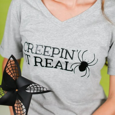 Creepin' It Real Halloween T-Shirt Decal