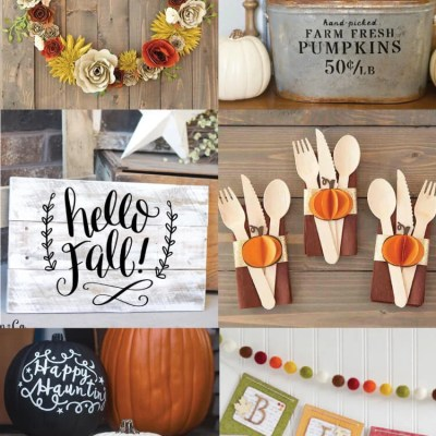 Cricut Fall Projects