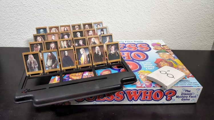 Harry Potter - Guess Who Game - Simply Potter