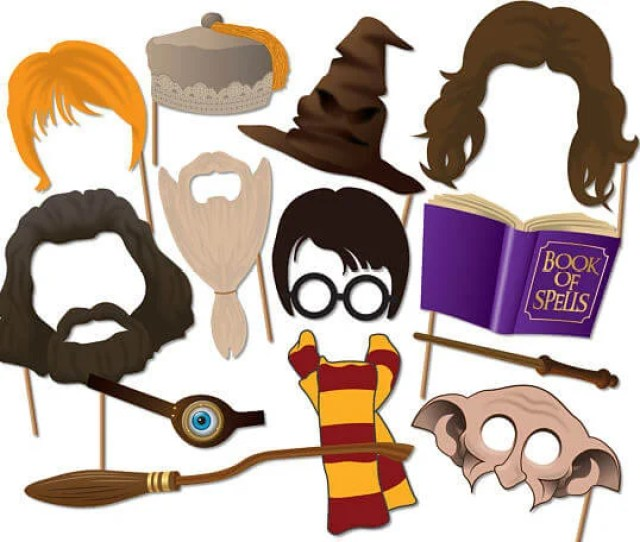 Harry Potter Photo Booth Props Instantgraffix