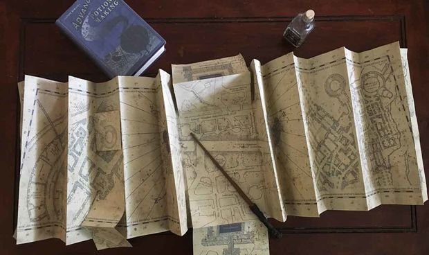 Maurader's Map - Instructibes
