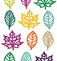 this festive and colorful set of fall leaf clip art is just what you need for [ 750 x 1125 Pixel ]