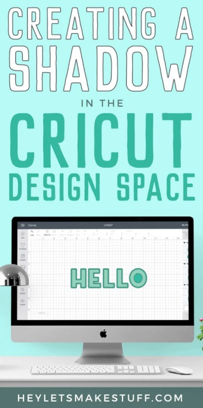 Want to create a text shadow in Cricut Design Space? Here are a few different ways to do it!