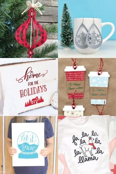 Get ready for Christmas with these festive Cricut Christmas projects! So many free SVG files to help you get in the Christmas spirit and make your holiday season merry and bright.