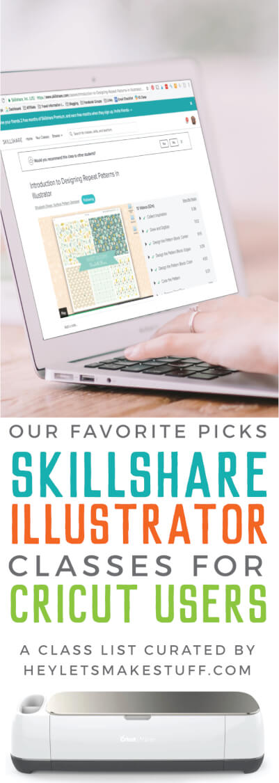 If you're looking to learn how to make files for your Cricut using Illustrator, you're going to love these Skillshare classes! Specifically curated for Cricut users, these classes will help you take your Cricut designs to the next level.