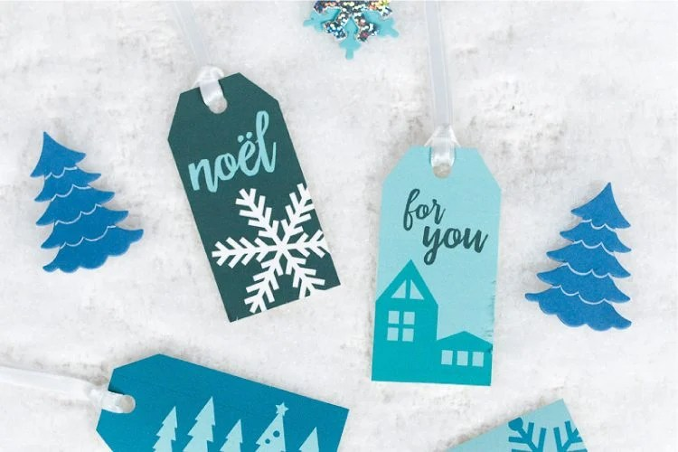 Forgo the traditional red and green christmas wrapping paper for these gift wrap ideas centered around crisp, wintry motifs! From free printable gift tags to clever wrapping paper, you'll find all sorts of winter gift wrap inspiration here.
