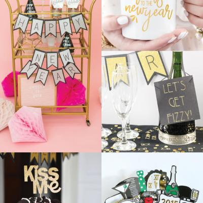 New Year's Eve Party Ideas with the Cricut