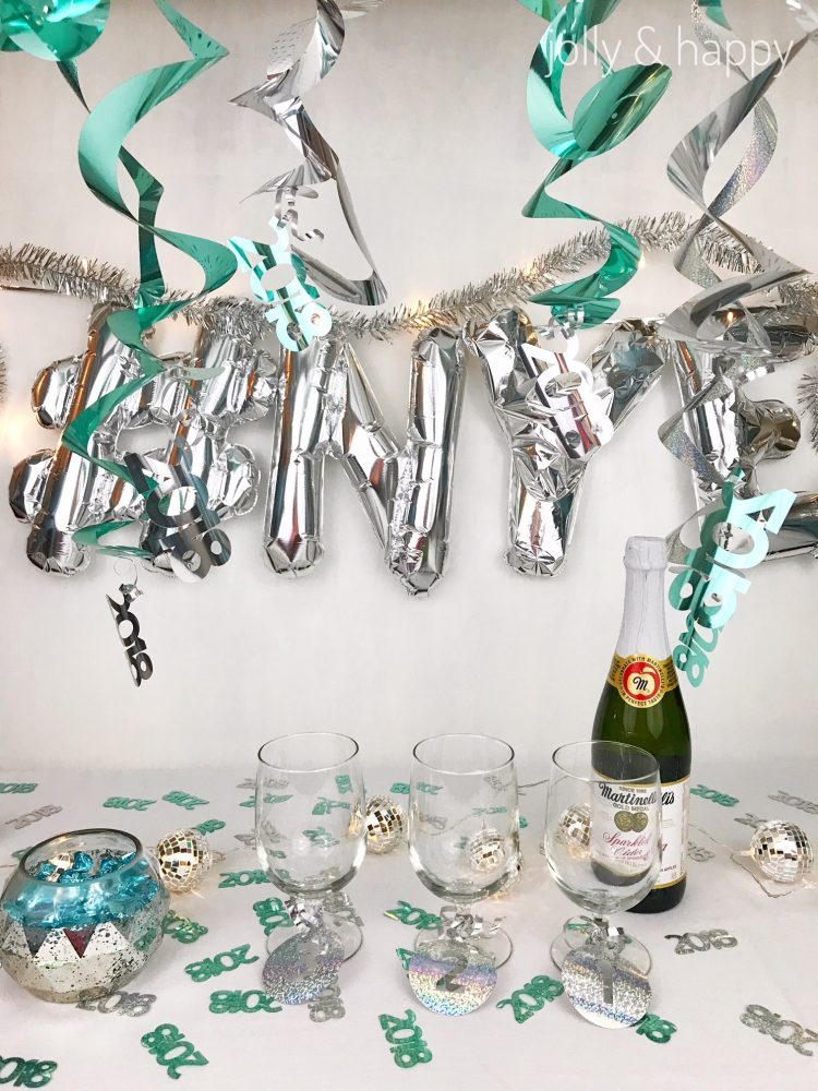 New Years Eve Party Ideas with the Cricut  Hey Lets