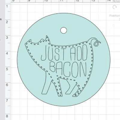 Using Attach in Cricut Design Space