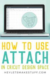 Attach in Cricut Design Space 9