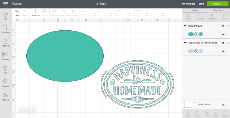 Step 1 - Using Flatten in Cricut Design Space - Using Flatten in Cricut Design Space makes it possible to turn any cut file into a printable image. Here's how to use this feature, and a few tips and tricks for making the most of the flatten tool.