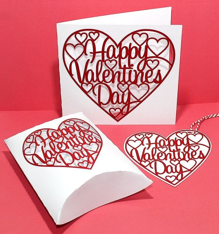 Get ready for Valentine's Day with these sweet Valentine's Day projects using the Cricut or other cutting machine! So many easy Cricut tutorials to help you celebrate the day of love!