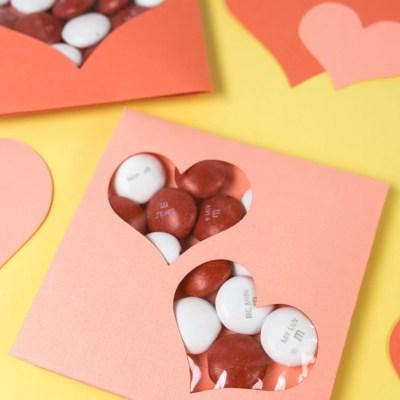 DIY Valentine Candy Cards