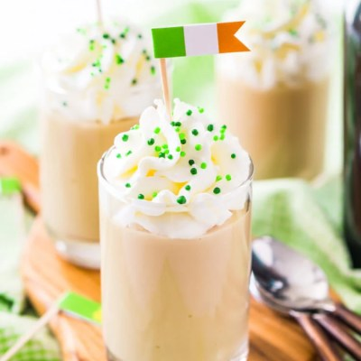 Easy St. Patrick's Day Food Flags
