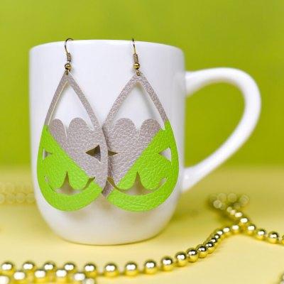 Shamrock St. Patrick's Day Earrings