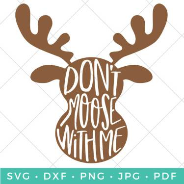 Don't Moose with Me Iron On Onesie - Hey, Let's Make Stuff