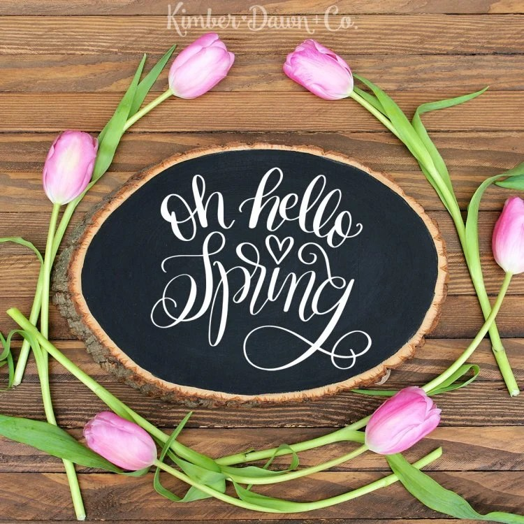 """Oh Hello Spring"" I'm sharing my favorite FREE SVGs for Easter and spring! All the colors, designs, decor, and adorable characters you'll need for a fun and festive season."