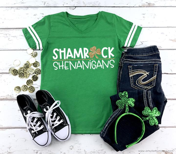St. Patrick's Day SVG cut file