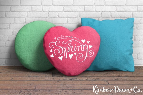 """""""Welcome Spring"""" I'm sharing my favorite FREE SVGs for Easter and spring! All the colors, designs, decor, and adorable characters you'll need for a fun and festive season."""