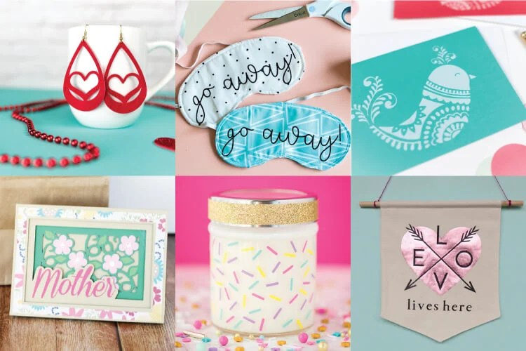 Mother S Day Craft Ideas With The Cricut Hey Let S Make Stuff