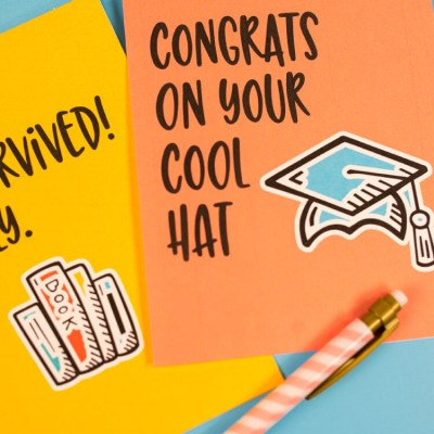 Printable Funny Graduation Cards