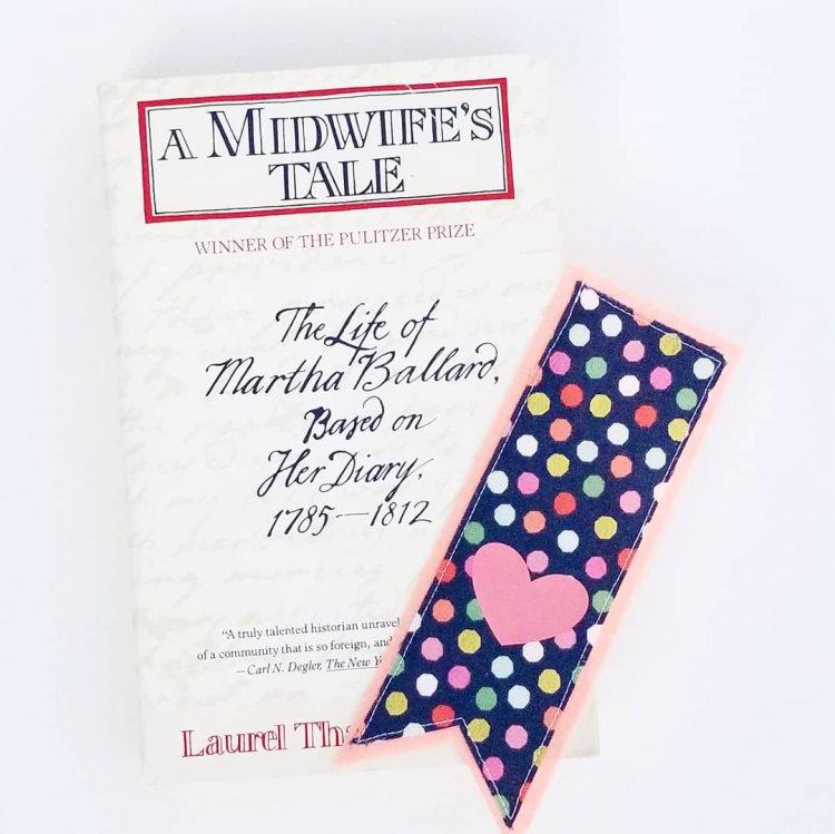 Felt and Fabric Bookmark