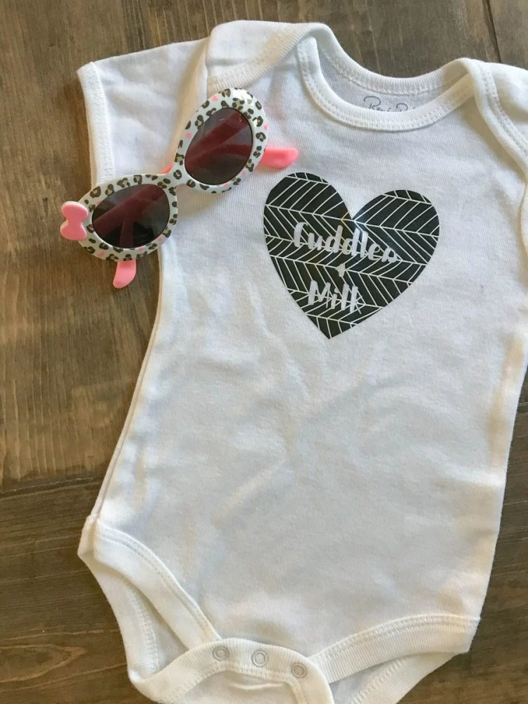 Cuddles & Milk | Dress your littles in style with these DIY baby onesies! Your Cricut makes these baby favorites easy to put together—and they are perfect for baby showers and newborn gifts!Dress your littles in style with these DIY baby onesies! Your Cricut makes these baby favorites easy to put together—and they are perfect for baby showers and newborn gifts!