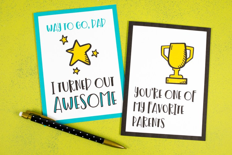 If your dad isn't into golf, ties, or barbecuing, finding a Father's Day card can be a struggle! These funny Father's Day cards will make your dad laugh out loud—and isn't that the best gift of all?