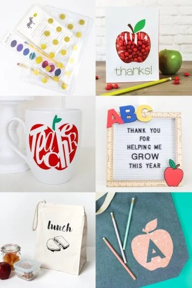 Get your kid ready for school with these awesome back to school crafts with the Cricut! many of these fun school crafts are also great for teachers and classrooms!