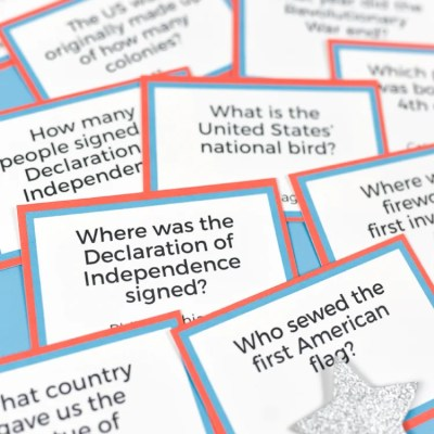 Printable Fourth of July Trivia