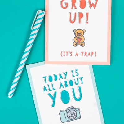 Funny Printable Birthday Cards