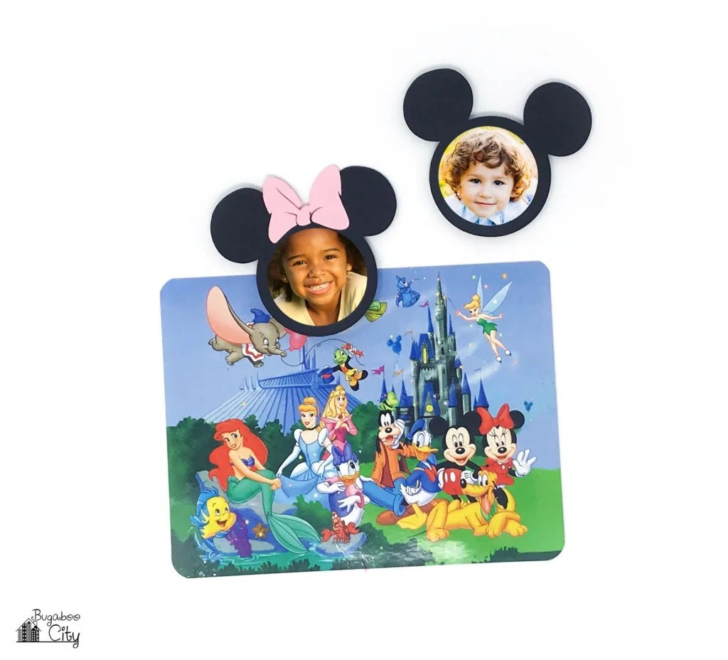 DIY Mickey And Minnie Mouse Magnets With Cricut Design Space from bugaboocity.com