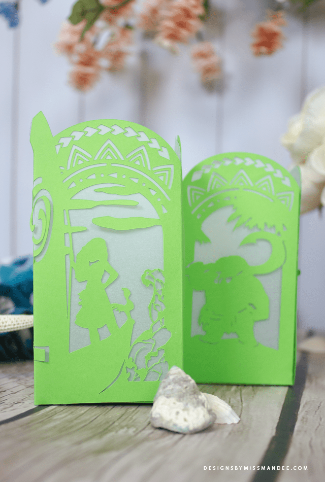 Moana Paper Lantern from designsbymissmandee.com