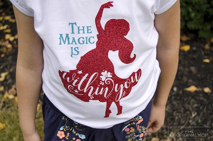 Elena Of Avalor Shirt + Free Cut File from unoriginalmom.com