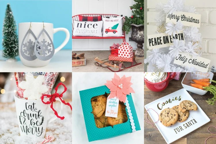 Easy Cricut Christmas Gift Ideas - Hey, Let's Make Stuff